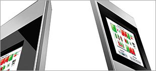 Qkiosk Cerberis Affichage digital salles de réunion