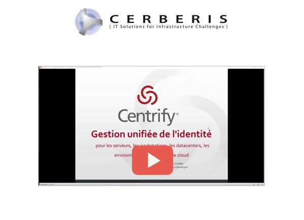 Vidéo Webinaire Centrify
