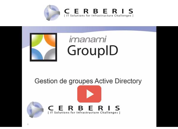 webinaire cerberis imanami gestion de groupes active directory