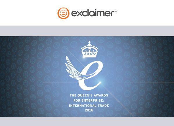 Exclaimer Queen's Awards 2016 Cerberis