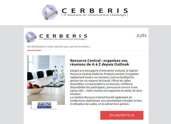 Newsletter Cerberis juin 2016
