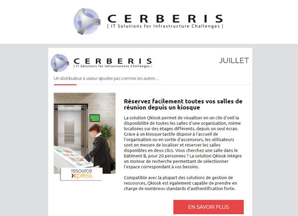 Newsletter Cerberis Juillet 2016