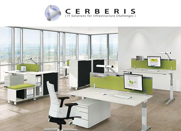Desk sharing Cerberis partage de bureaux
